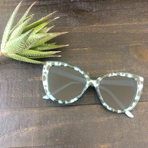 A.J. Morgan Oversized Cat Eye Sunglasses